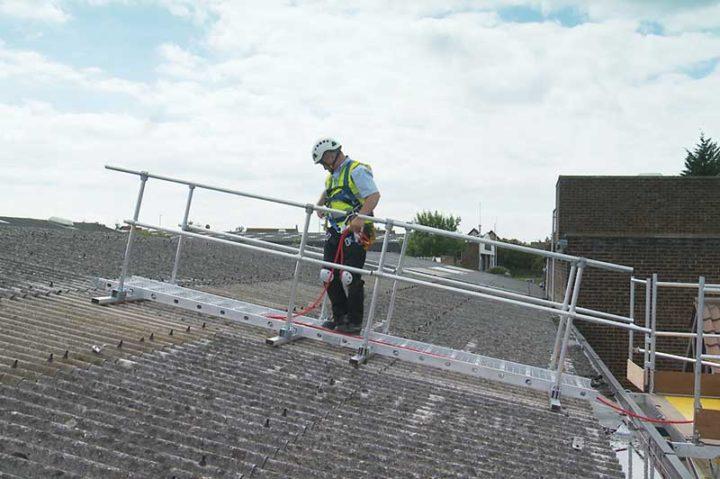 Fragile Roof Safety System
